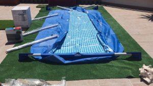 Como desmontar y guardar piscinas tubulares