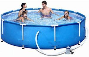 Cómo elegir una piscina desmontable con depuradora