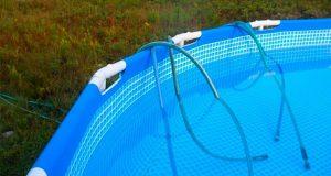 Como vaciar piscina desmontable