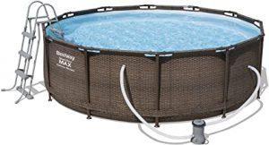 Comprar mejores piscinas desmontables con depuradora de arena y cartucho