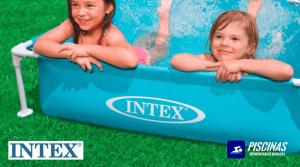 Intex 57173NP - Piscina desmontable mini small frame 122 x 30 cm 342 litros