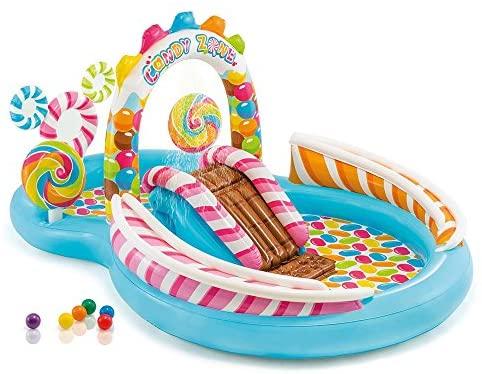 Modelo 57149NP - Centro de juegos hinchable Candy Zone 295 x 191 x 130 cm