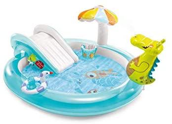 Modelos de piscinas para niños y niñas inflables con tobogán