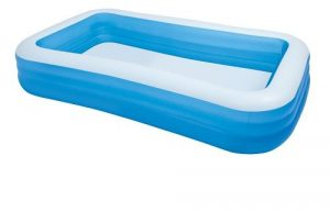 Piscina pequeña inflable