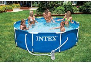 Piscinas desmontables con depuradora de arena Intex